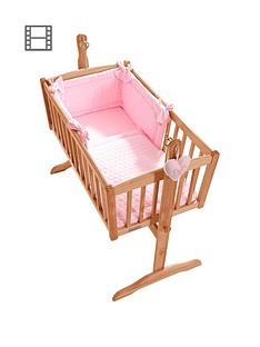 clair-de-lune-marshmallow-rocking-crib-set