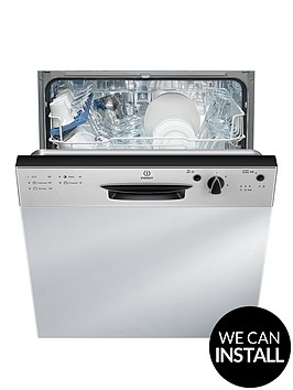 indesit-dpg15b1nx-13-place-full-sizenbspintegrated-dishwasher-with-quick-wash-and-optional-installation-silver