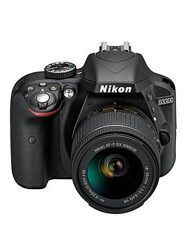 Nikon D3300 24.2 Megapixel Digital Camera With 1855Mm AfP Lens