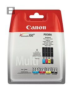canon-cli-551-multi-pack-ink-value-pack