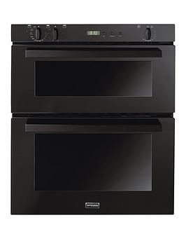 Stoves SEB700FPS Built Under Electric Double Oven  Black