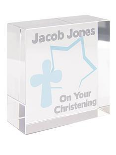 personalised-christening-glass-block