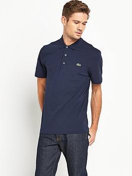 lacoste-plain-mens-short-sleeve-polo-shirt-ndash-navy