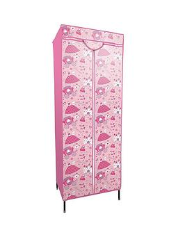 printed-princess-fabric-covered-kids-wardrobe
