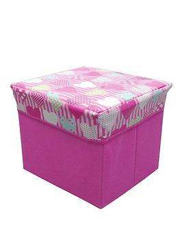 hearts-novelty-kids-storage-cube