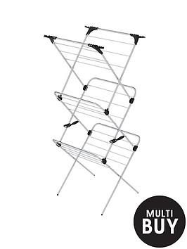 minky-3-tier-chrome-indoor-airer