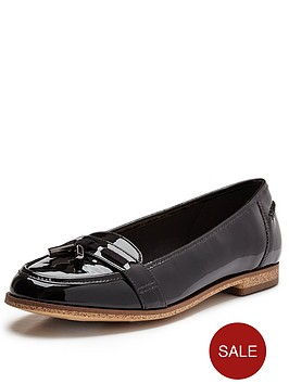 clarks-angelica-crush-flat-shoes-black-patent