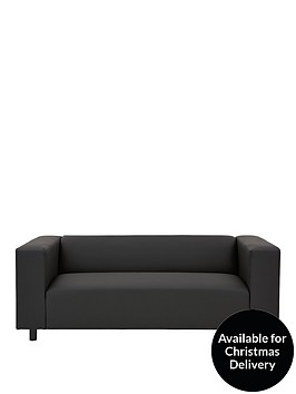 clarke-faux-leather-3-seater-sofa