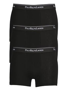 Polo Ralph Lauren Polo Ralph Lauren 3 Pack Of Core Trunks - Black Picture