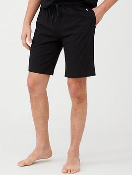 Polo Ralph Lauren Polo Ralph Lauren Jersey Lounge Shorts - Black Picture