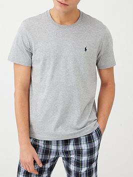 Polo Ralph Lauren   Logo Lounge T-Shirt - Grey Melange