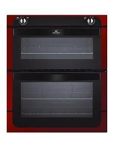 new-world-nw701do-70cm-built-in-electric-double-oven-red-metallic