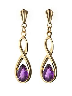 love-gem-9-carat-yellow-gold-figure-of-8-amethyst-dropper-earrings