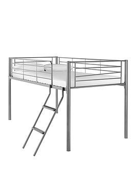 kidspace domino mid sleeper bed  - mid sleeper with standard mattress