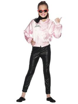 Grease Grease Grease Pink Ladies Jacket - Child Costume Picture