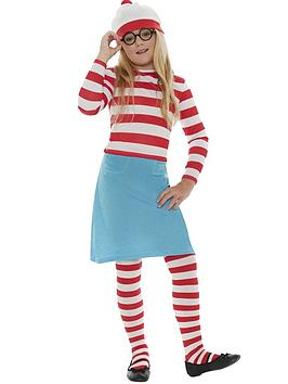 WhereS Wally WhereS Wally Wenda  ChildS Costume