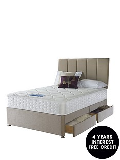 sealy-nina-1200-pocket-orthonbspmemory-divan-with-optional-storage