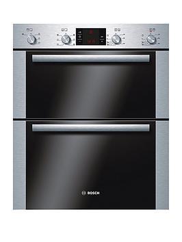 bosch-hbn43b250b-classixx-60cm-built-under-electric-double-oven-brushed-steelnbsp
