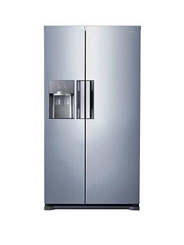 Samsung Rs7667FhcslEu FrostFree AmericanStyle Fridge Freezer With Twin Cooling Plus&Trade System  Silver