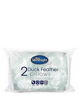 silentnight-luxury-duck-feather-pillow-pair