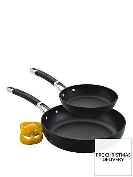 circulon-premier-professional-hard-anodised-20-and-28-cm-2-piece-frying-pan-set