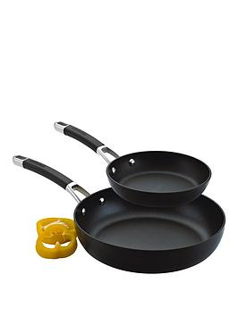 Circulon   Premier Professional Hard Anodised 20 And 28 Cm 2 Piece Frying Pan Set