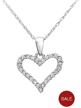 love-diamond-9-carat-white-gold-15-point-heart-pendant-and-chain