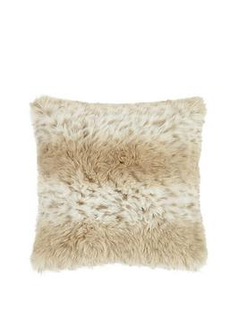 snow-leopard-faux-fur-cushion
