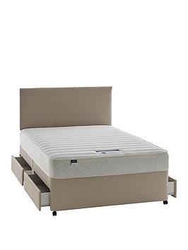 Silentnight Silentnight Miracoil 3 Celine Memory Divan With Optional  ... Picture