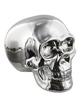 silver-skull-money-box