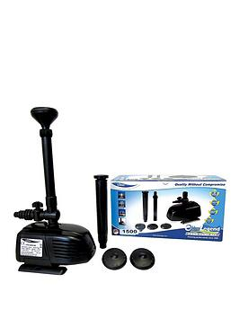 lotus-otter-legend-1500-pond-pump-with-3-year-guarantee