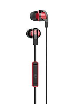 Skullcandy Smokin Buds 2 In Ear Headphones  BlackRed