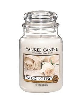 Yankee Candle Yankee Candle Large Jar - Wedding Day Picture