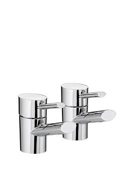 bristan-oval-basin-taps-chrome