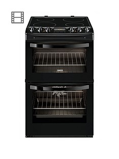 zanussi-zcv48300ba-55-cm-ceramic-electric-double-oven-black