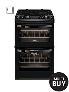 zanussi-zcv48300ba-55cm-ceramic-electric-double-oven-black