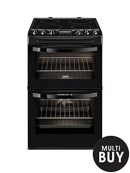 zanussi-zcv48300ba-55cm-ceramic-electric-double-oven-black