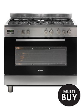 candy-ccg9m52px-90cm-dual-fuel-range-cooker-stainless-steel
