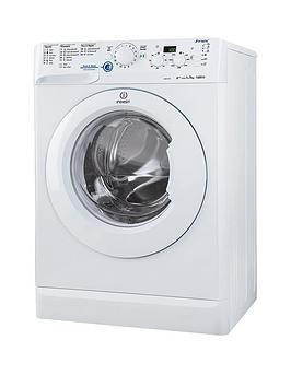 Indesit Innex Xwd71452W 1400 Spin 7Kg Load Washing Machine  White
