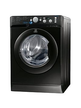 Indesit Innex Xwd71452K 1400 Spin 7Kg Load Washing Machine  Black