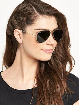 ray-ban-aviator-sunglasses-gold