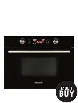 baumatic-bmc460bgl-46-cm-high-compact-combination-microwave-oven-black