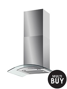 baumatic-bt63gl-60cm-chimney-hood-stainless-steel