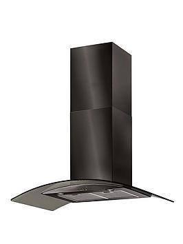 Baumatic 90 Cm Cooker Hood Bt9.3Bgl Kirsch 3Bgl 90 Cm  Black