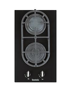 baumatic-bgg32-30-cm-gas-on-glass-hob-black