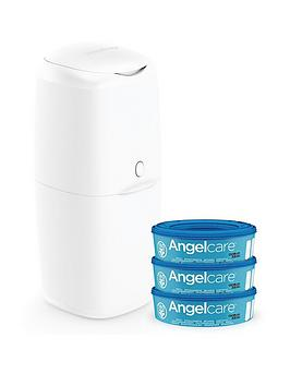 Angelcare   Nappy Disposal System - Starter Pack