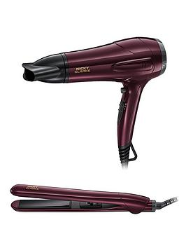 Nicky Clarke Nicky Clarke Ngp227 Hairdryer And Straightener Gift Set Picture