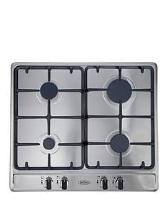 belling-ghu60gc-60cm-built-in-cast-iron-gas-hob-stainless-steel