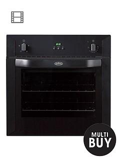 belling-bi60fp-60cm-built-in-single-fan-electric-oven-black
