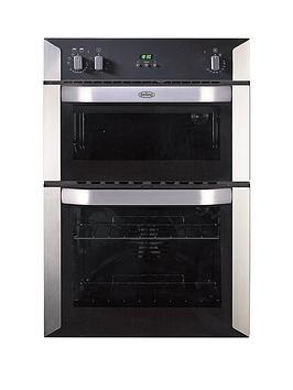 belling-bi90fp-60cm-built-in-double-fan-electric-oven-stainless-steelnbsp